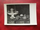 PHOTO NATURE MORTE DE CEZANNE COLLECTION DURAND-RUEL - NON CIRCULEE   -  L79 - Peintures & Tableaux