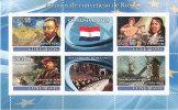 GUINEA BISSAU 2008 - 50 ANOS DE CONVENCAO DE ROMA -  PAISES BAIXOS -TRATTATI DI ROMA 1957 - BF INTEGRO - Guinea-Bissau