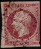 # France   20, Used, Sound  (fr020-6, Michel 16  [16-DG - 1853-1860 Napoleon III