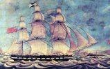 DAVID BRISTOL, English Clipper Ship By Walter, Born 1783 Unused - Sailing Vessels