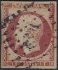 # France 21, Used,VF,  RARE  SCV3250, (fr021-13, Michel 17 Karmine, [16-CBET - 1853-1860 Napoléon III.