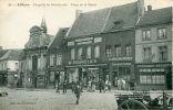 N°15555 -cpa Lillers -chapelle De Miséricorde-place De La Mairie -commerce - - Lillers