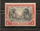 INDE Thème éléphant ,Y-T  31**(MNH) - 1950-59 République
