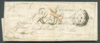 Lettre De ROME Le 27 Décembre 1851 Avec Càd Corps Expéditionnaire Et Taxée 25 Centimes Au Tampon.  B  -  7445 - Postmark Collection (Covers)
