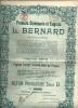 MESVIN  Produits Chimiques Et Engrais  L. BERNARD  10.12.1912  Action Privilegiee Serie B - Agriculture