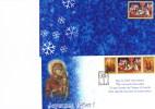 2005 - ROMANIA - CARTOLINA NATALIZIA FDC  / CHRISTMAS POSTCARD FDC. - Natale