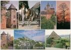 C19/026 - COLLONGES-la-ROUGE Et Ses Environs - Multivues - Turenne, Castel De Vassignac... - Animée - Scan Recto-verso - France