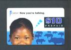 SIERRA LEONE  -  Remote Phonecard As Scan - Sierra Leone