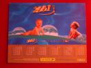 Calendrier ALMANACH PTT DU FACTEUR - LA POSTE - 2001 - Enfants - OLLER - Seine Et Marne 77 - Très Bon état - Calendarios