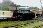 D-49. - Photographie Originale. - Locomotive 141 TB 407 En Gare. - (voir Scan Recto-verso) - Trains
