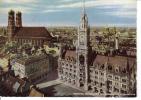 MÜNCHEN - Marienplatz Mit Rathaus Und Frauenkirche - Ungel. - Muenchen