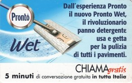 *CHIAMAGRATIS - N.181 - PRONTO WET* - Scheda NUOVA (MINT) (DT) - Italia