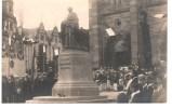 CPA Obernai - Cérémonie Devant L'église (statue Msg Freppel) - écrite Voyagée 1924 - Obernai