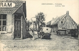 WESTVLETEREN TRAMSTATIE ARRET DU TRAIN 1917 - Vleteren