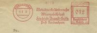 Germany Cover With Meter Metalwerke Unterweser Friedrich August Hutte, Nordenham 9-6-1936 - Fysica