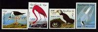 Rep. Niger **  PA N° 336 à 339 - Oiseaux - Niger (1960-...)