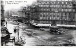 LES INONDATIONS DE PARIS - JANVIER 1910 -- LA PLACE DE ROME - TRES BELLE CARTE - - Inondazioni