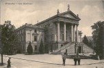 WINTERTHUR > DAS STADTHAUS MIT PASSANTEN DAVOR ++++ Ca.1910, S/w Lichtdruck - ZH Zurich