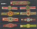 DDR, Zigarren-Etiketten, Zustand. Gut - Bauchbinden (Zigarrenringe)