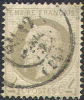# France   31, Used,  Sound, Attractive  (fr031-11,  Michel 25  [16-EB - 1863-1870 Napoleon III With Laurels