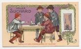 Jolie Chromo Milka Suchard Série 214 Enfant Jeu Cartes Compagnons De Taverne A15-72 - Suchard
