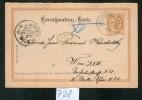 AU728 Bedarfskorrespondenz-Kart E  1899 Gestempelt Mit Rundstempel Kremsmünster , Ankunftsstempel Rundstempel Wien 30.11 - 1850-1918 Imperium