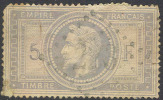# France 37, Used, 4 Mgns.,  RARE, Grey Lil. (fr037-11, Michel 32 [16-HBE - 1863-1870 Napoleon III With Laurels