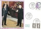 """CDG 107 """" XXe Anniversaire De La Mort De Charles De Gaulle """" 12 NOV. 1990 Colombey Les Deux églises - De Gaulle (Général)"""