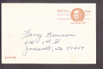 Postal Card - Robert Morris - Equity Lodge No. 131. A.F.  & A.M. - Ganzsachen