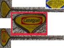 Rare Ancienne Clé Clef CLE à Boite De Conserve CASSEGRAIN Sardines Grillées - Altre Collezioni