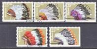 U.S. 2501-5   (o)  AMERICAN INDIAN HEADDRESS - United States
