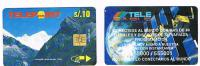 PERU'  - TELEPOINT  (CHIP) - LAGUNA DE PARON ANCASH / TELECABLE      - USED  -  RIF. 2029 - Peru
