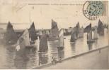 CPA 85 LES SABLES D'OLONNE Rentrée Des Bateaux De Pêche Voiliers Pêche à La Sardine 1904 - Sables D'Olonne
