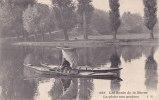 ¤¤  -  585   -   La Pêche Aux Goujons   -  Les Bords De La Marne  -  Pêche à La Ligne , Barque , Bateau  -  ¤¤ - Pesca