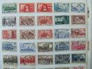 VEND LOT DE TIMBRES DE FRANCE SUR F.A. , NEUFS - OBLITERES , COTE = + 110 € - France