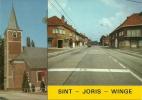 Sint Joris Winge Tielt Winge  St Joris Kerk En Centrum - Tielt-Winge