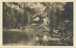 AK Kandergrund Berner Oberland Blausee ~1920/30 #01 - BE Berne