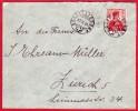 Brief Mit Altes Stempel Schöfflisdorf (ZH) / 27.X.14 / Ankunfstempel Zürich 27.10.14 - Timbres