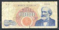 441- Italie Billet De 1000 Lire 1962 Q14 - 1000 Lire