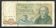 441- Italie Billet De 5000 Lire 1977 DA137V - [ 2] 1946-… : Républic