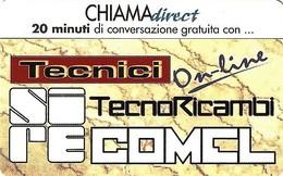 *CHIAMADIRECT - N.4 - TECNICI ON LINE* - Scheda NUOVA (MINT) (DT) - Italia