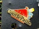 """(lot343) Pins Pin´s / Thème """"non Classés"""" : RESTAURANT GRILL COURTE PAILLE            Fabriqué Par Ou Pour ?????  : Voir - Unclassified"""