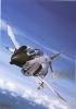 USN F-4B Phantom II   -  Artist Iain Wyllie  -  Large Aviation Art Postcard - 1946-....: Moderne