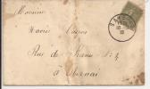 N808 - Provisoire SAVERNE - 1919 - Timbre à Date SANS DEPARTEMENT -Timbre Type SEMEUSE - - Alsace-Lorraine