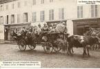 88  SAINT DIE  LA GUERRE DANS LES VOSGES  1914 1915  PENDANT L´OCCUPATION ALLEMANDE LE DERNIER CONVOI DE BLESSES ...... - Guerre 1914-18