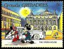 Granada Granadinas 1989 Scott 1061 Sello ** Walt Disney Opera House Paris Mickey Y Minnie 5c Grenada Grenadines Stamps - Disney
