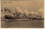 SIRACUSA PANORAMA CON PIROSCAFO 1915 - Siracusa