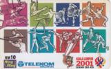 MALAYSIA - Sukan Sea XXI/Kuala Lumpur 2001, Telecom Malaysia Prepaid Card RM10, Exp.date 31/07/03, Used