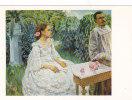 00696 Self-portrait With Sister Artist Borisov-Musatov - Pittura & Quadri
