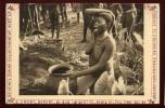 Cpa Afrique équatoriale Française Oubangui Chari Femme Boubou Devant Urne Funéraire  NW36 - Central African Republic